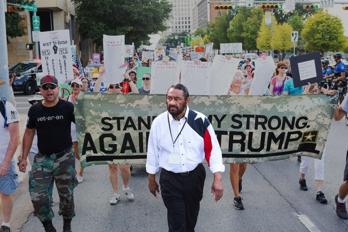 CONGRESSMAN AL GREEN INTRODUCES ARTICLES OF IMPEACHMENT – AND WITHDREWTHEM