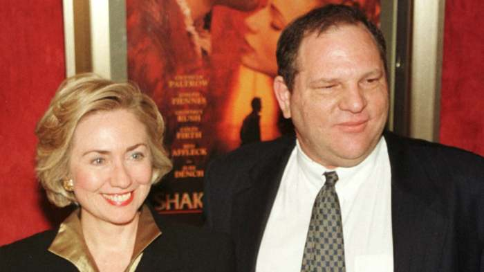 HILLARY CLINTON SAYS SHE'LL DONATE WEINSTEIN'S CONTRIBUTION