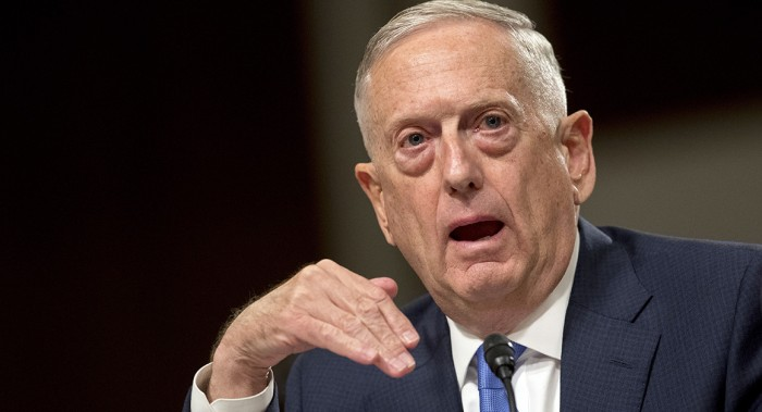 JIM MATTIS TELLS MILITARY 'TO BE READY' WITH OPTIONS ON NORTH KOREA