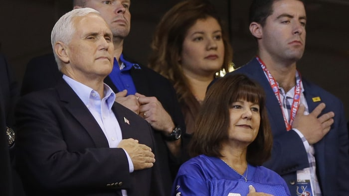 THE REAL STORY BEHIND WHY VICE PRESIDENT MIKE PENCE LEFT NFL GAME