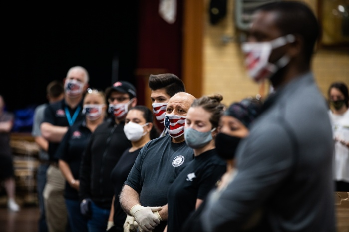 PROTESTS SPARK FEAR OF U.S.OUTBREAKS