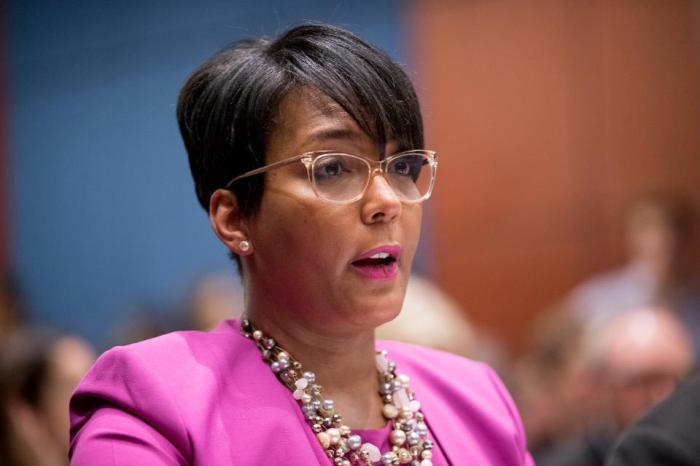 KEISHA LANCE BOTTOMS IS THE MAYOR AND MOTHER AMERICA NEEDS RIGHT NOW