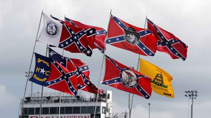 NASCAR BANS CONFEDERATE FLAGS