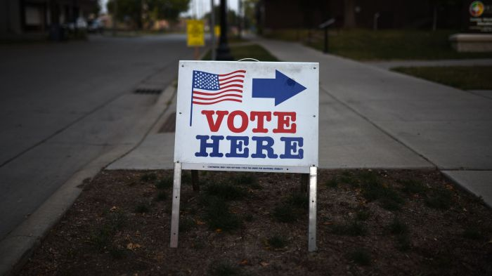 AMID RACIAL UNREST, A TEST AT THEPOLLS