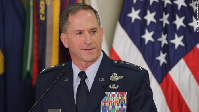 AIR FORCE COMMANDER CALLS GEORGE FLOYD'S DEATH 'A NATIONALTRAGEDY'