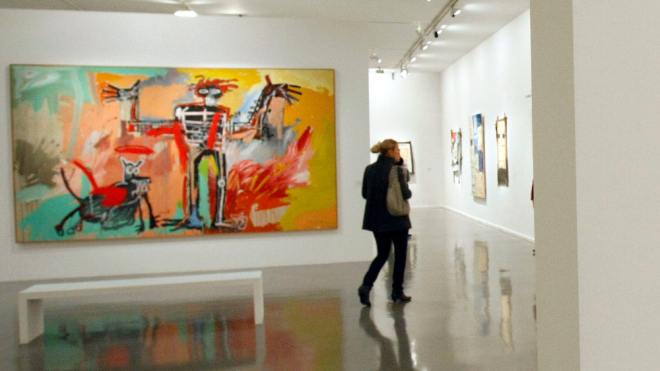 BASQUIAT PAINTING  SELLS FOR $110.5 MILLION
