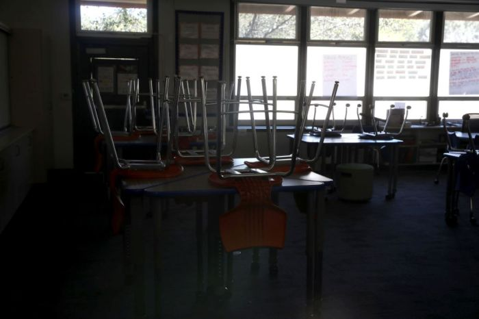 THE PANIC OVER REOPENINGSCHOOLS