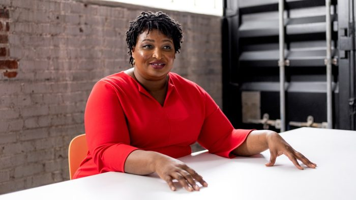 STACEY ABRAMS ON VOTER SUPPRESSION
