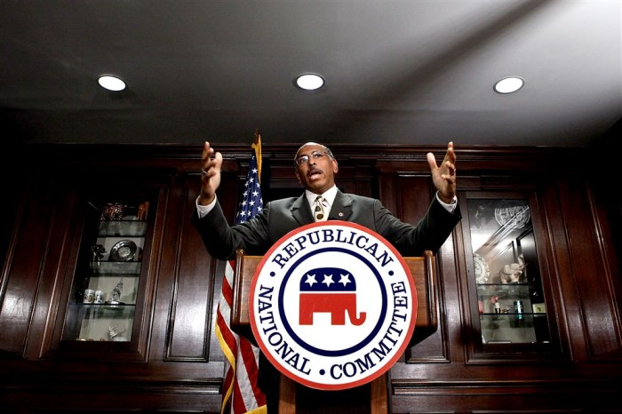 FORMER RNC CHAIR MICHAEL STEELE ON WHY HE'S VOTING FORBIDEN