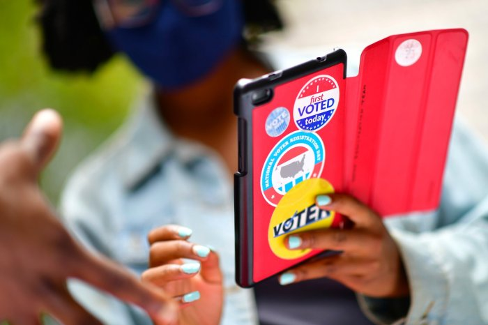 EARLY VOTING SURGES PAST 35 MILLIONMARK