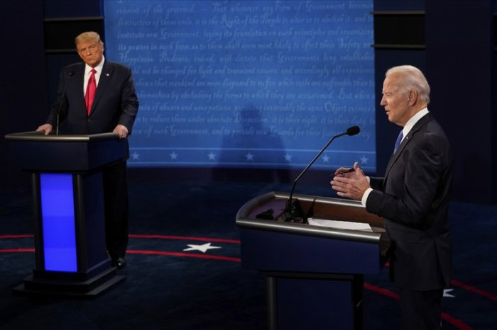 TRUMP-BIDEN DEBATE FACT CHECK