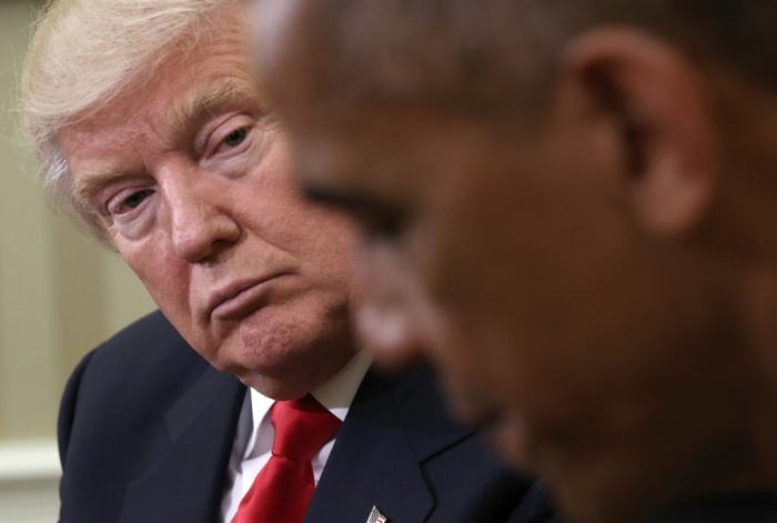 TRUMP ENDS OBAMA'S 12-YEAR RUN AS MOST ADMIREDMAN